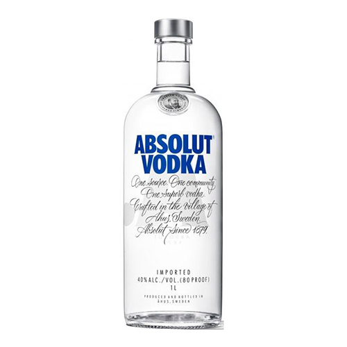 Absolut Blue votca