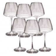 Set 6 pahare pentru vin - 350ml - Naomi Collection