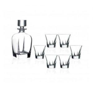 Set sticla si 6 pahare pentru whisky - Fusion