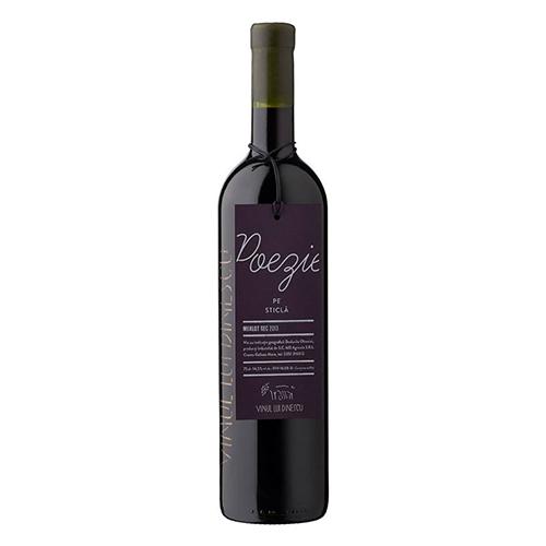 Vinul lui Dinescu – Poezie pe sticla – Merlot 2013