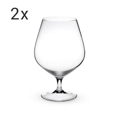 Set 2 pahare cognac Peugeot
